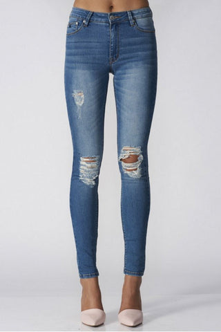 Kitty Skinny | 1977 Vintage - RES DENIM