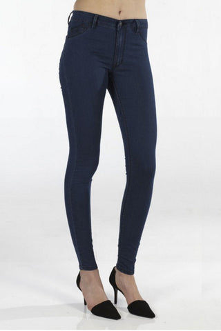 Kitty Skinny | Jackrabbit Indigo - RES DENIM