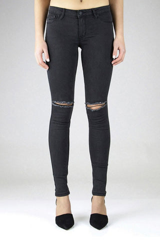 Trashqueen Skinny | Creeper - RES DENIM