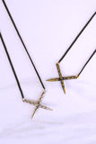 Rope Cross Pendant - K/LLER COLLECTION