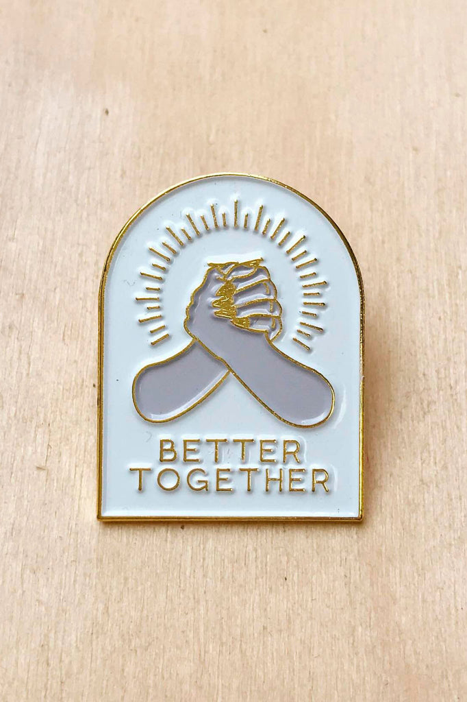 Better Together Lapel Pin - SAD TRUTH SUPPLY
