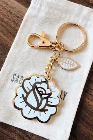 Rose Petal Keychain & Purse Charm - SAD TRUTH SUPPLY