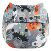 Halloween One Size Pocket Diapers w/ Organic Cotton Inserts