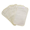 Organic Cotton Wipes - 12-pack