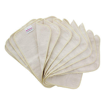 Organic Cotton Wipes - FREE with minimum order of $75