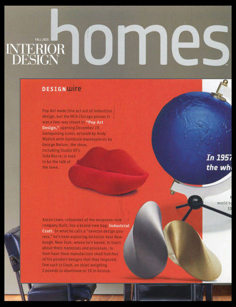 Interior Design Magazine featuring Industrial Craft and Aaron Lown