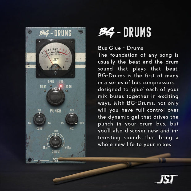 JST Bus Glue BG-Drums