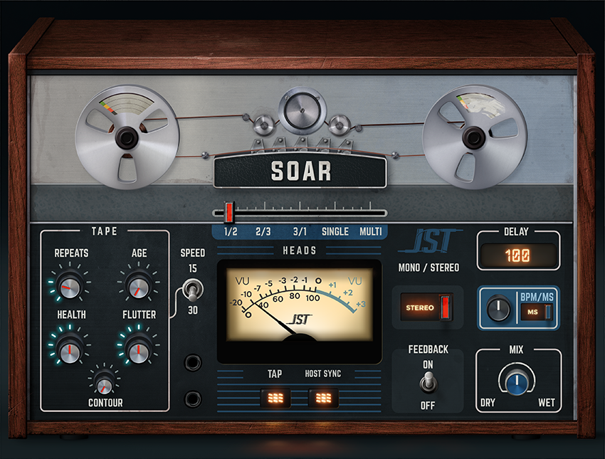 """Please recommend a vintage """"imperfect tape fluctuations"""" plugin"""