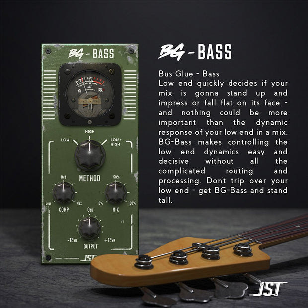 JST Bus Glue BG-Bass