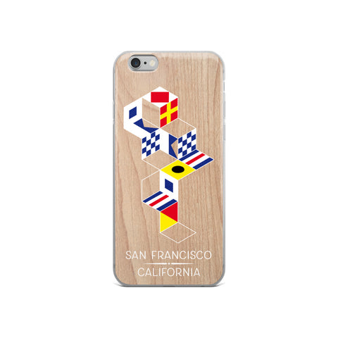 San Francisco Nautical iPhone Cases