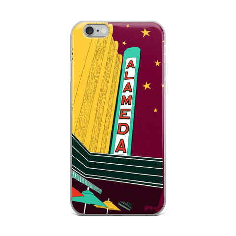 Alameda Theatre iPhone Cases