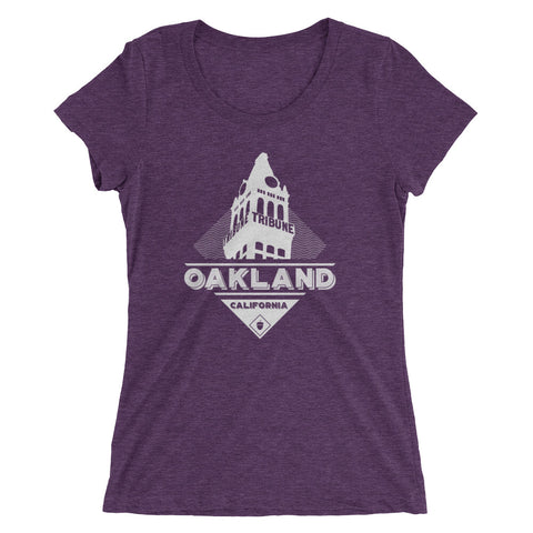 Oakland Tribune Ladies' Short Sleeve T-shirt