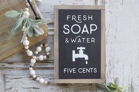 Bathroom Collection: Fresh Soap and Water