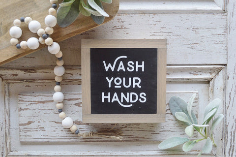 Bathroom Collection: Wash Your Hands