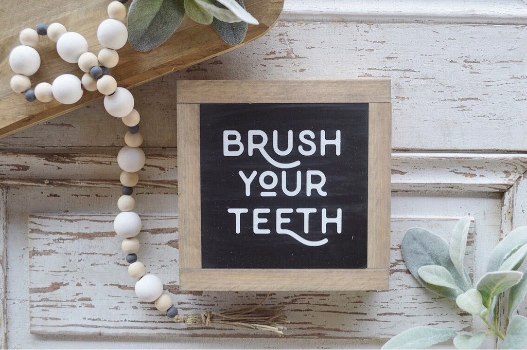 Bathroom Collection:  Brush Your Teeth