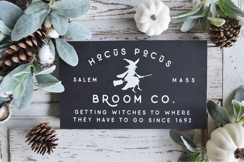 Halloween Collection: Hocus Pocus Broom Co