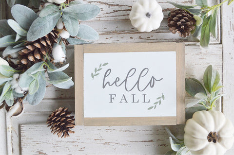 Fall Collection: Hello Fall