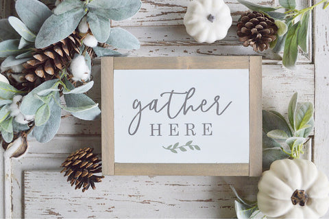 Fall Collection: Gather Here