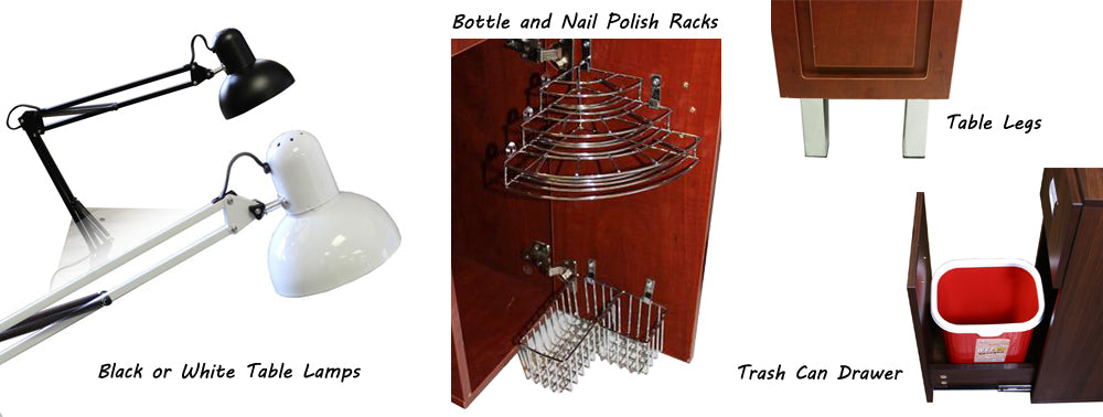 Deco Salon Manicure Table Accessories
