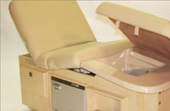 Golden Touch All-In-One Treatment Table Pedicure Closeup