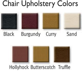 Gulfstream Pedicure Bench Paris Triple Upholstery Colors