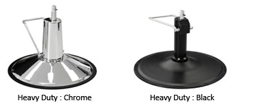 Heavy-duty chair base options
