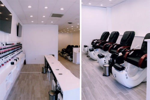 J&A Cleo GX Pedicure Chairs at Oasis Nails & Day Spa