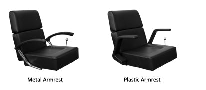Oriana Styling Chair arm options