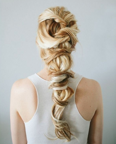 10 Hot Hairstyles For 2016 Your Clients Will Love - Romantic Twist Braid