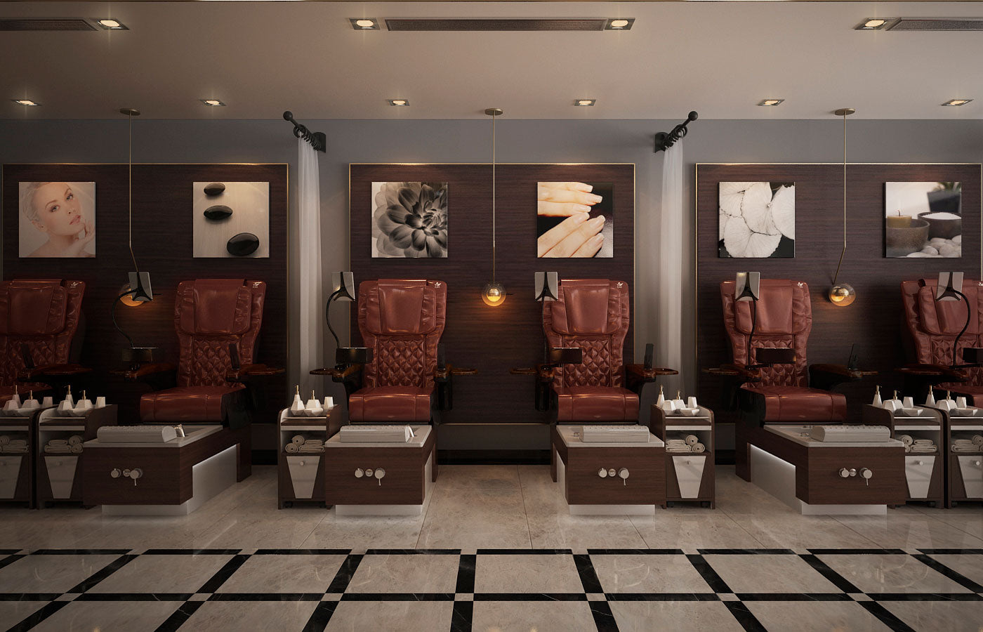 ANS Ion I Pedicure Chair in Salon