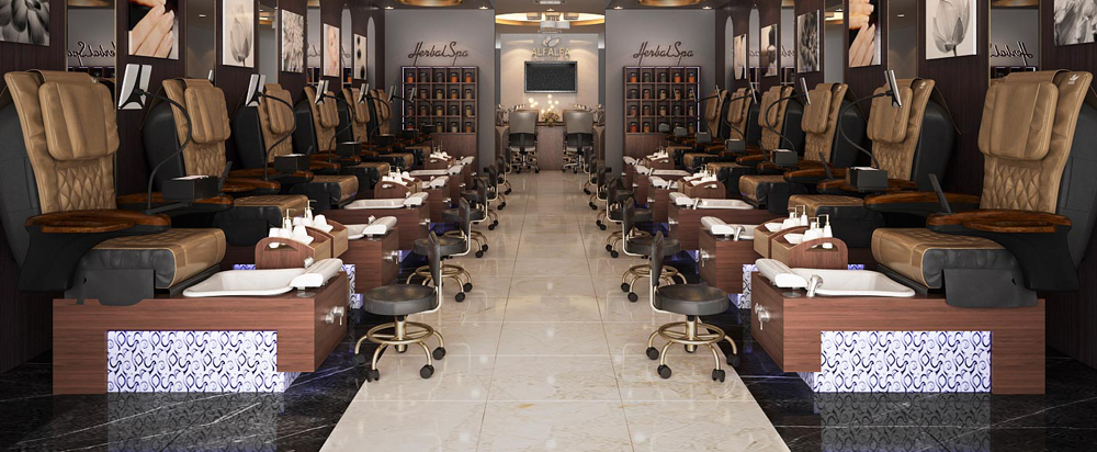 Nail Salon Furniture from Aria Chairs
