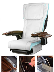 Alfalfa Nail Supply ANS P20 Massage Chair