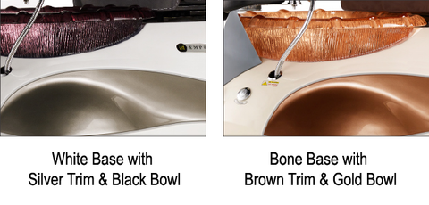 Empress RX Pedicure Chair Base and Bowl Options