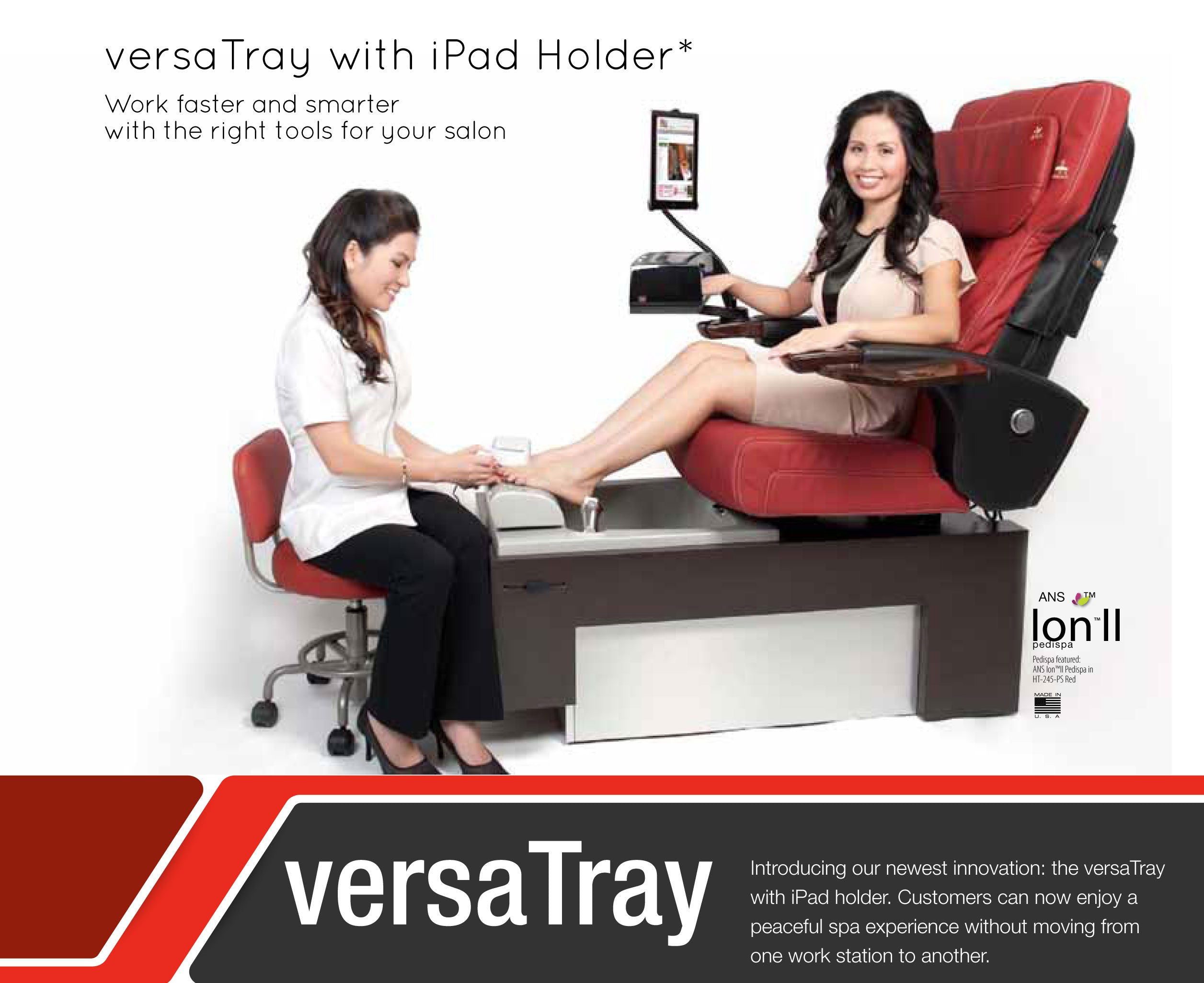 VersaTray for HT245 Massage Chair Top