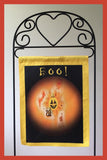 BOO_-12x18-Garden-Window-Flag-Fly-Me-The-Sunny-Breezes-Decorative-Flags-Collection-from-T-Cards-by-Bad-Ballerinas-Halloween-Photo-Stand