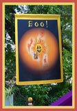 BOO!-28x40-House-Flag-Fly-Me-The-Sunny-Breezes-Decorative-Flags-Collection-from-T-Cards-by-Bad-Ballerinas-Halloween-Photo-Borders