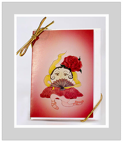 Bitty-Rinas-Act-I-The-Sunerinas-The-Little-Ones-Set-of-6-Gift-Enclosures-T-Cards-by-Bad-Ballerinas