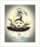 Black-Swun-Act-III-The-Sunerinas-Artisan-Gretting-Card-designed-by-T-Cards-by-Bad-Ballerinas-Gift-Enclosure