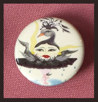 Black-Swun-Button-The-Sunerinas-The-BB-Button-Collection-designed-by-T-Cards-by-Bad-Ballerinas