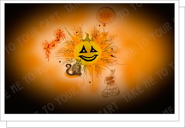 Boo-Halloween-Fall-Winter-Holiday-Fare-T-Cards-by-Bad-Ballerinas-Classy