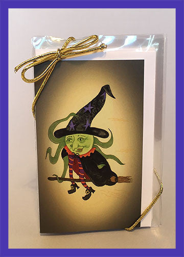 Candy-Corn-Halloween-The-Little-Ones-Set-of-6-Gift-Enclosures-Fall-Winter-Holiday-Fare-T-Cards-by-Bad-Ballerinas