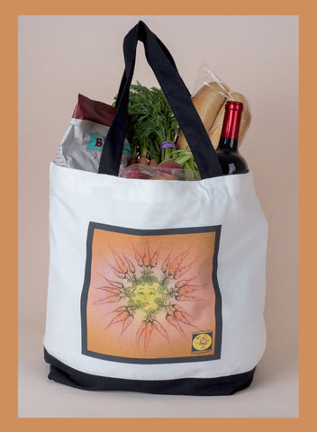 Carrots Large Tote Bag