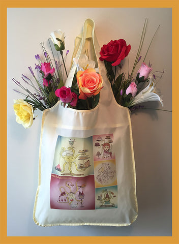 Chefs-Roll-a-Bag-Bunch-o-Bags-Collection-Artisan-Gifts-designed-by-T-Cards-by-Bad-Ballerinas-with-flowers