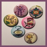 Cling-Me-The-Magnetic-Rays-Magnet-Collection-Circus-Smircus-designed-by-T-Cards-by-Bad-Ballerinas
