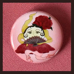 Don-Sunerita-Button-The-Sunerinas-BB-Button-Collection-T-Cards-by-Bad-Ballerinas