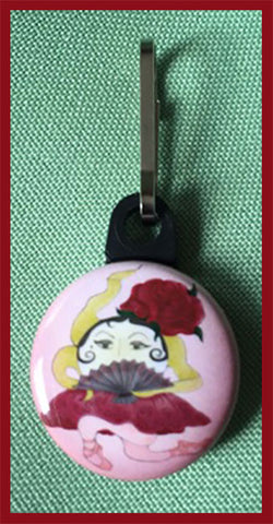 Don-Sunerita-The-Sunerinas-Ups-and-Downs-Zipper-Pulls-Collection-designed-by-T-Cards-by-Bad-Ballerinas