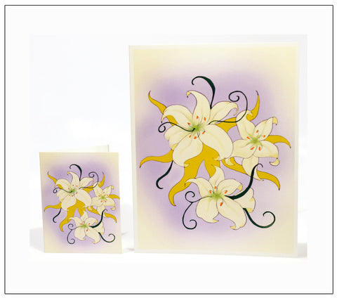 Easterlilies-Easter-Artisan-Greeting-Card-designed-by-T-Cards-by-Bad-Ballerinas-Card-Gift-Enclosure