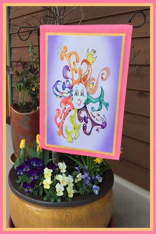 Find-12!-12x18-Garden-Window-Flag-Fly-Me-The-Sunny-Breezes-Decorative-Flags-Collection-Easter-T-Cards-by-Bad-Ballerinas