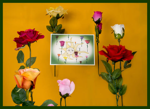 Floating-Flowers-Love-Special-Occasion-Heartfelt-Moments-Holiday-Fare-Greeting-Card-designed-by-T-Cards-by-Bad-Ballerinas-Photo