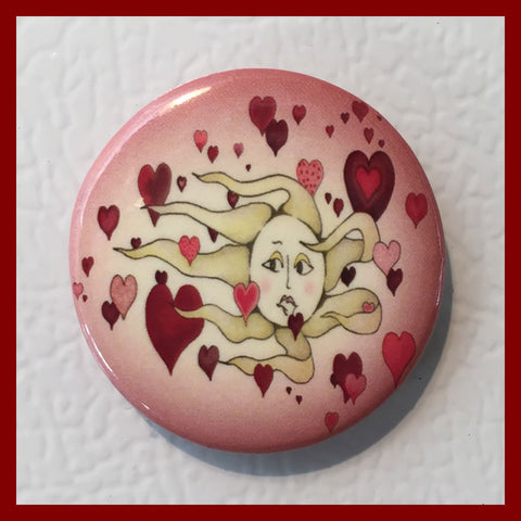 Floating-Hearts-Love-Heartfelt-Moments-Valentine_s-Day-Winter-Holiday-Fare-Mother_s-Day-Spring-Holiday-Fare-Cling-Me-The-Magnetic-Rays-Magnets-Collection-T-Cards-By-Bad-Ballerinas
